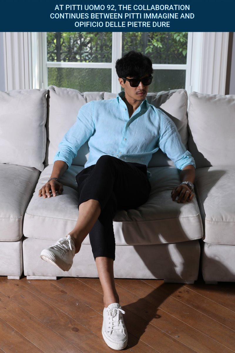TAKE503 FRENCH LINEN SHIRT-MINTSUMMER SEASON EVENT-출시기념 5% SALE!!(단7일간)