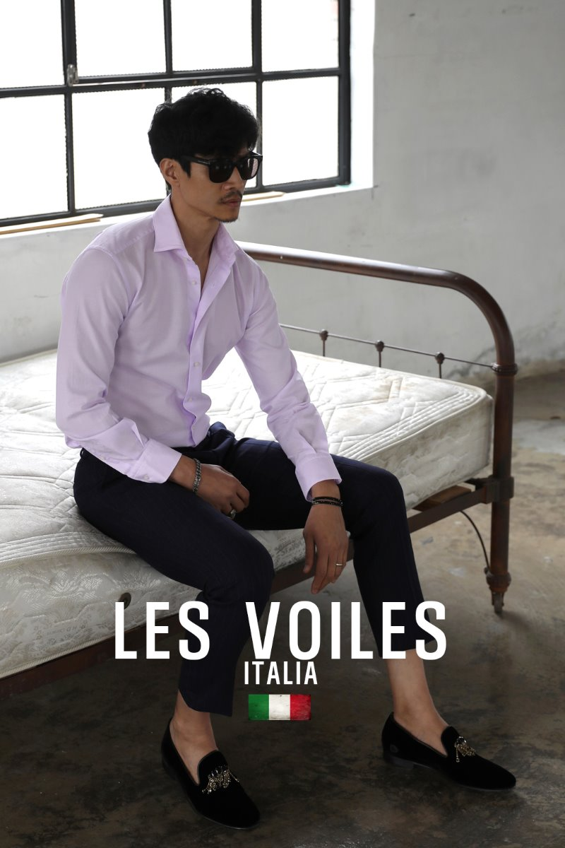 TAKE505 ITALIA WIDE COLLAR SHIRT-MOOD PINK-3/1이상 판매완료!